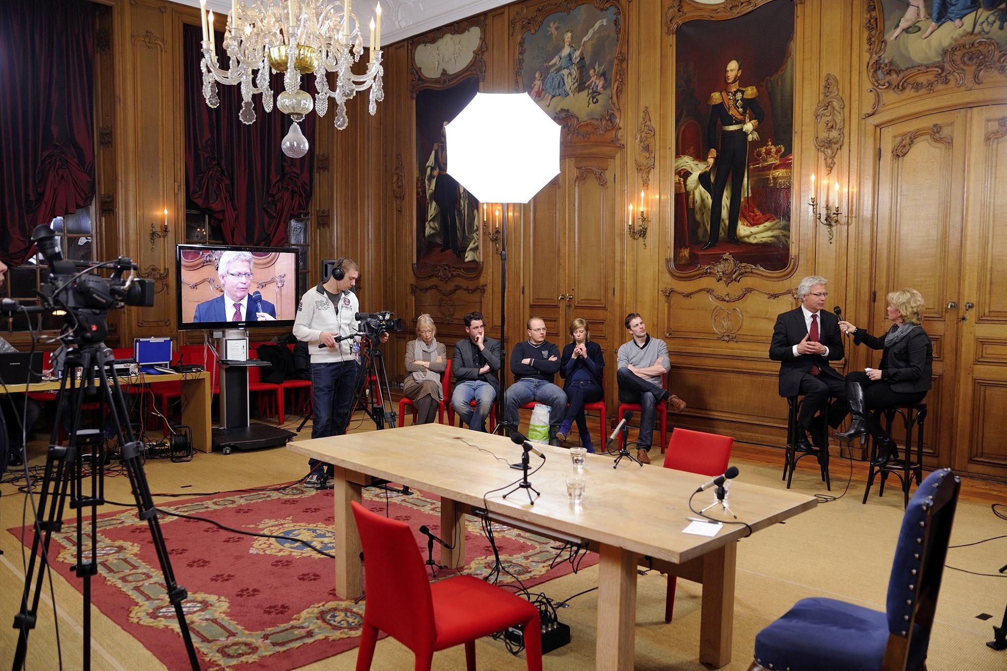 Video productie en regie voor Dag TV Gemeente Leeuwarden